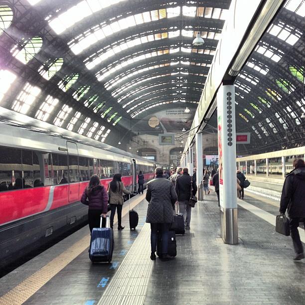 Milano Centrale (via Instagram)