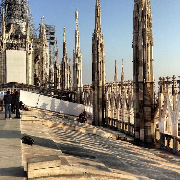 Duomo Roof (via Instagram)