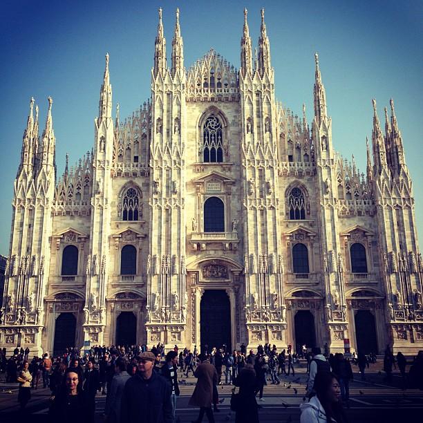 Duomo Milan (via Instagram)