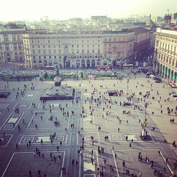 Piazza Duomo (via Instagram)