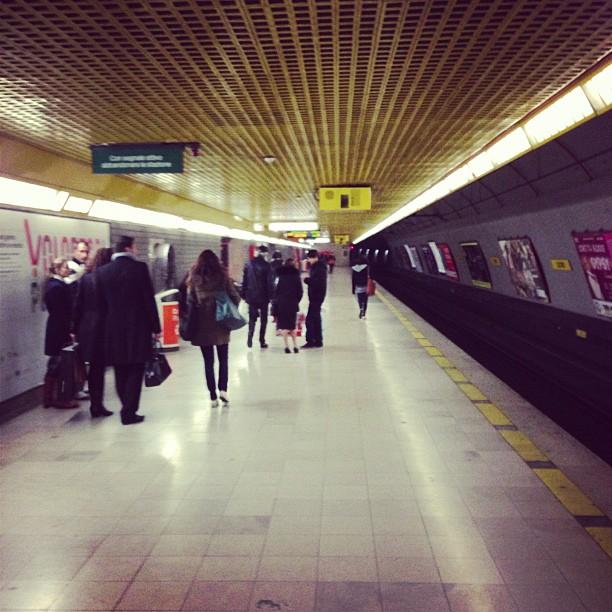 Duomo Metro Station (via Instagram)