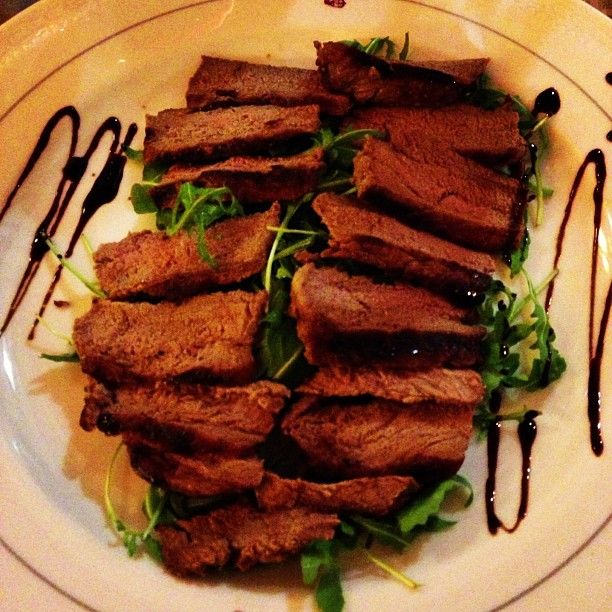 Tagliata of Beef (via Instagram)