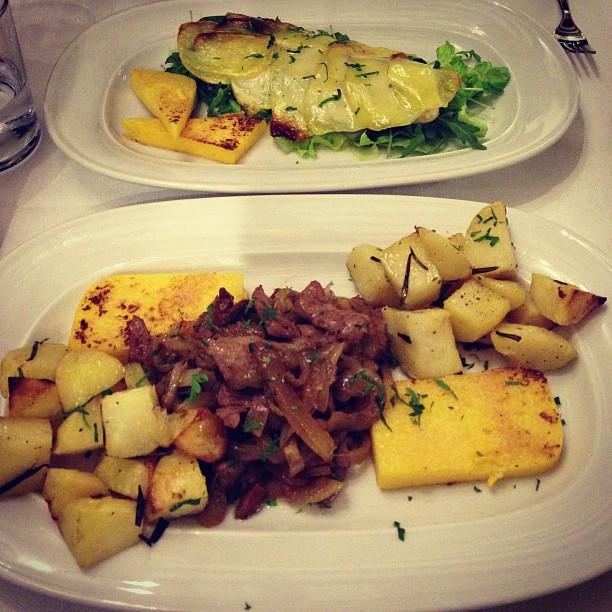 Anniversary Dinner (via Instagram)