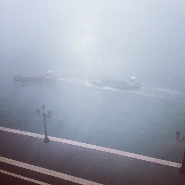 Foggy Morning (via Instagram)