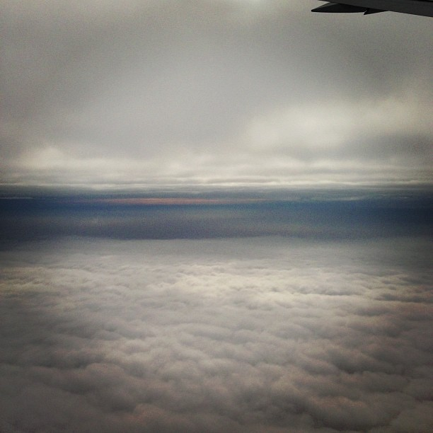 Between Clouds (via Instagram)