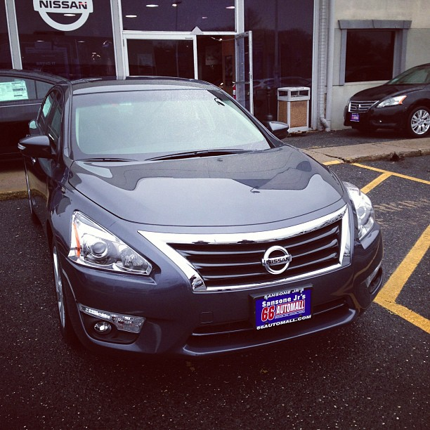 2013 Nissan Altima (via Instagram)
