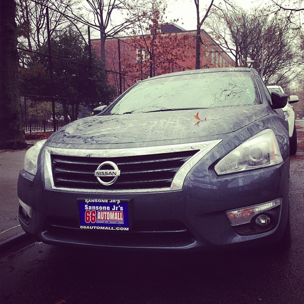 Parents' Altima (via Instagram)