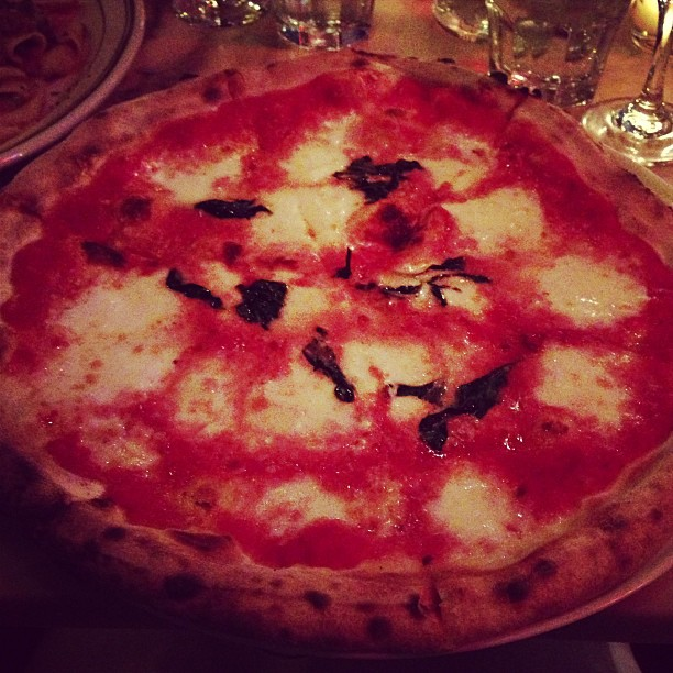 Bufala Mozzarella Pizza (via Instagram)