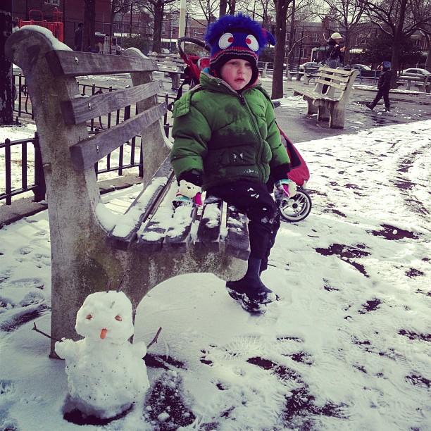 Snowman (via Instagram)