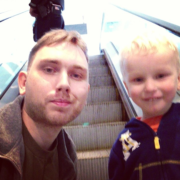 Escalator Rides (via Instagram)
