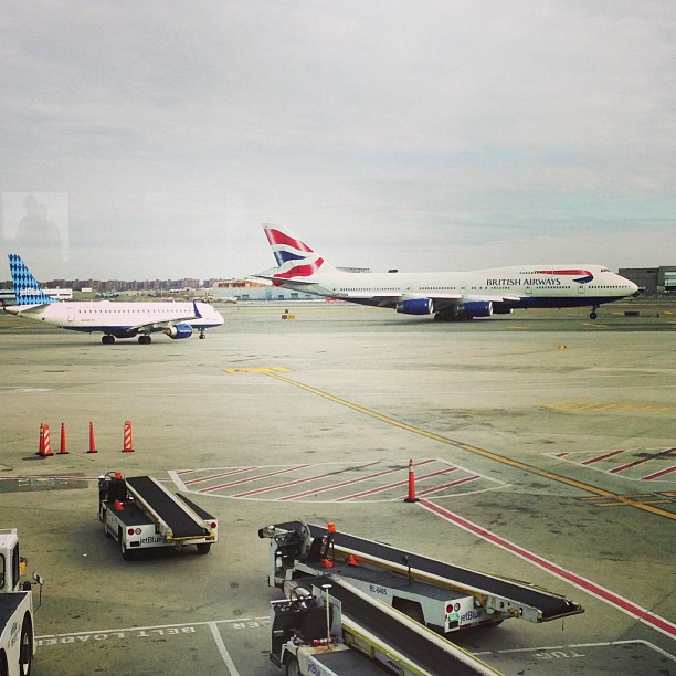 Plane Watching (via Instagram)