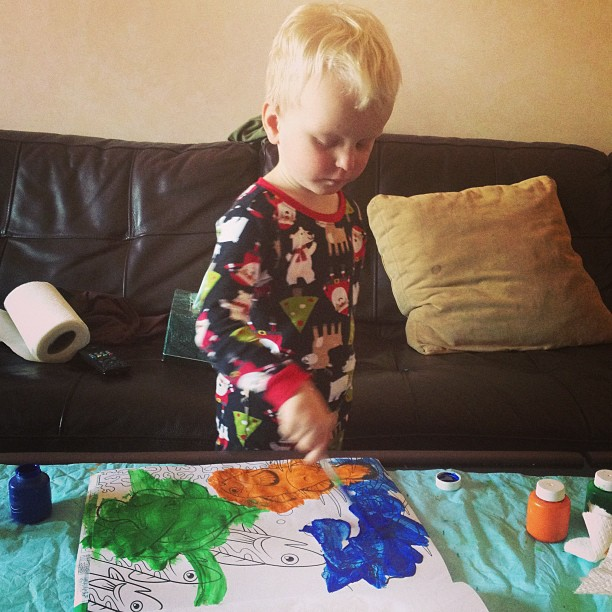 Coloring (via Instagram)