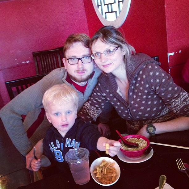 Lunch at Red Bowl (via Instagram)