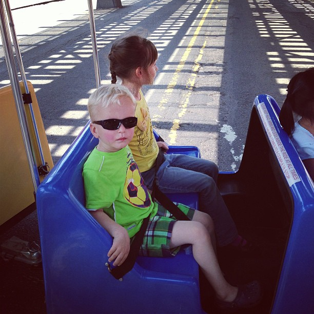 Train Ride (via Instagram)
