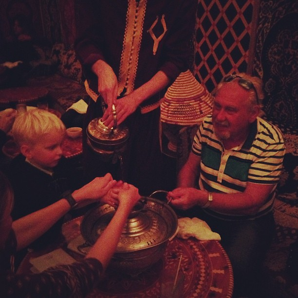 Moroccan Dinner (via Instagram)