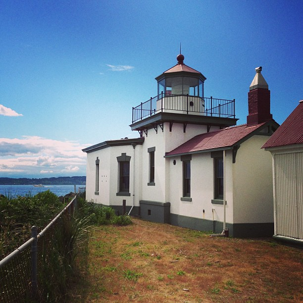 West Point Lighthouse (via Instagram)