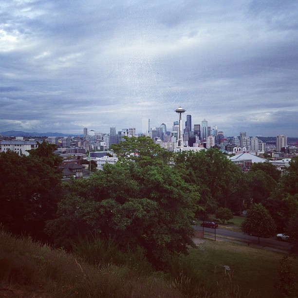 Seattle Skyline (via Instagram)