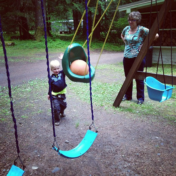 Ball in a Swing (via Instagram)