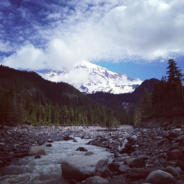 Mt. Rainier (via Instagram)