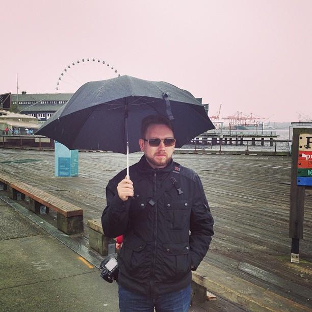 Rainy Seattle (via Instagram)