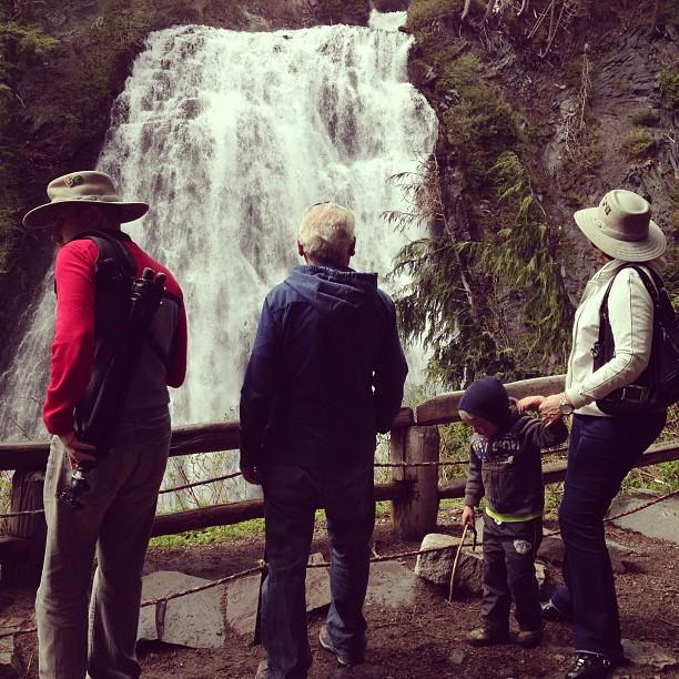 Narada Falls (via Instagram)