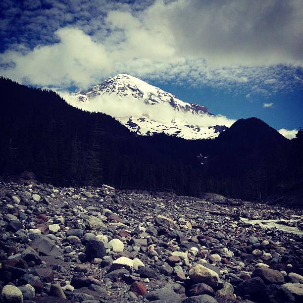 Mount Rainier (via Instagram)