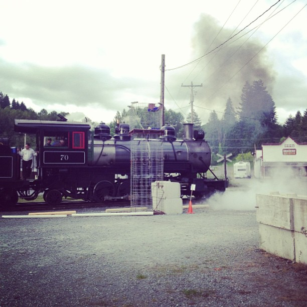 Steam Train (via Instagram)