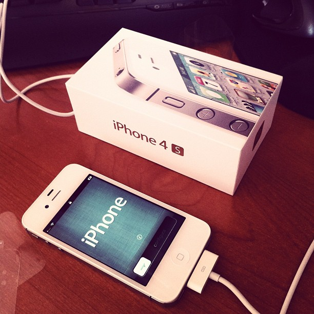 iPhone 4S (via Instagram)