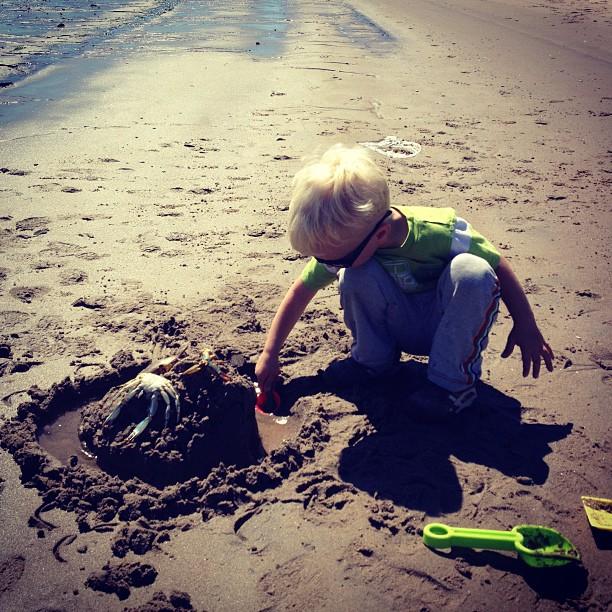 Sand Castle (via Instagram)