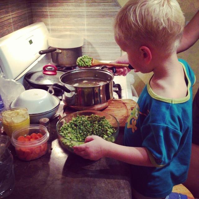 Soup Cooking (via Instagram)