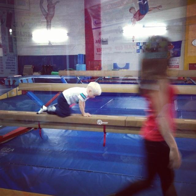 Gymnastics (via Instagram)