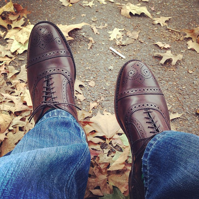 Allen Edmonds Strand (via Instagram)