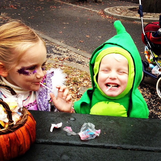Happy Halloween (via Instagram)