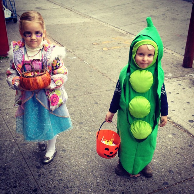 Trick-or-Treating (via Instagram)