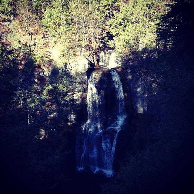 Bushkill Falls (via Instagram)