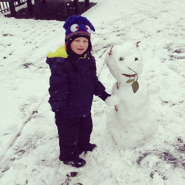 Snowman (via Instagram)