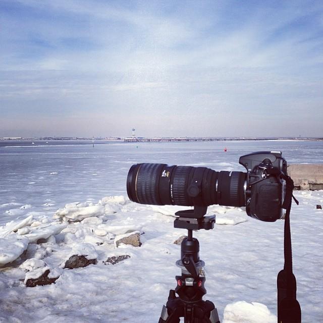 JFK at 400mm. (via Instagram)
