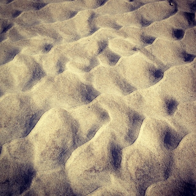 Sand (via Instagram)