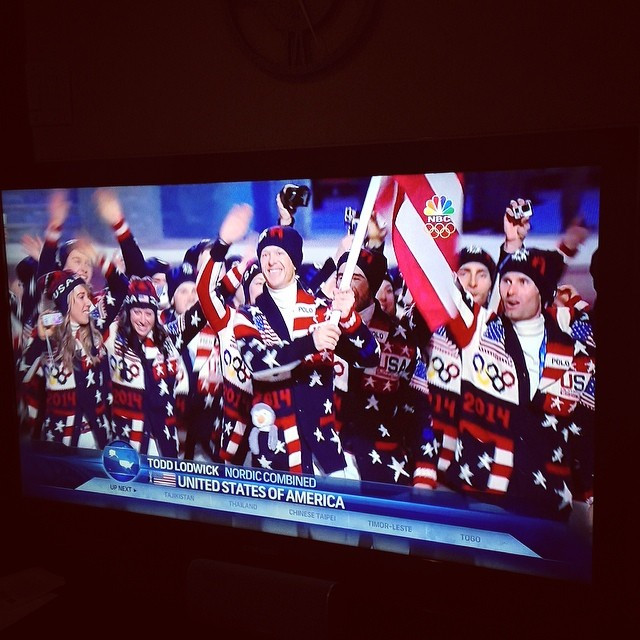 Go USA! (via Instagram)