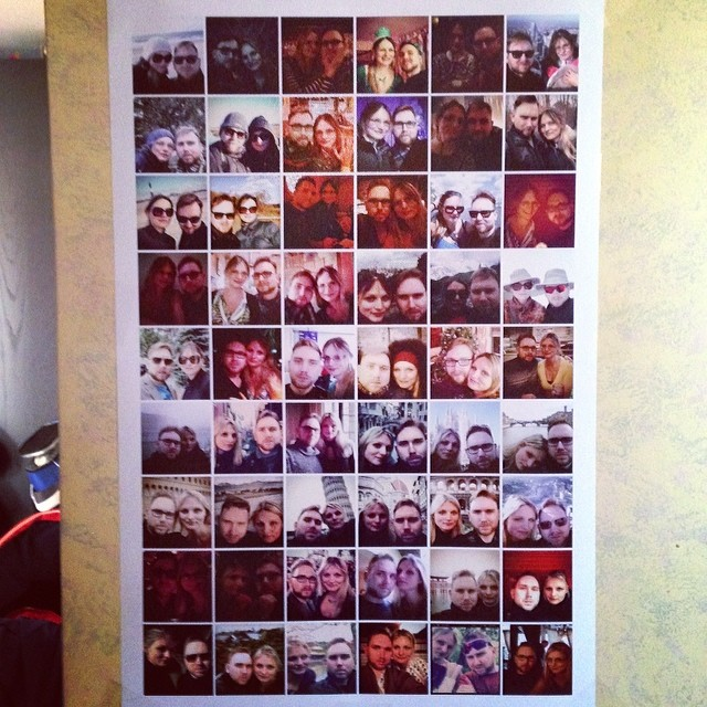 Selfies Poster (via Instagram)