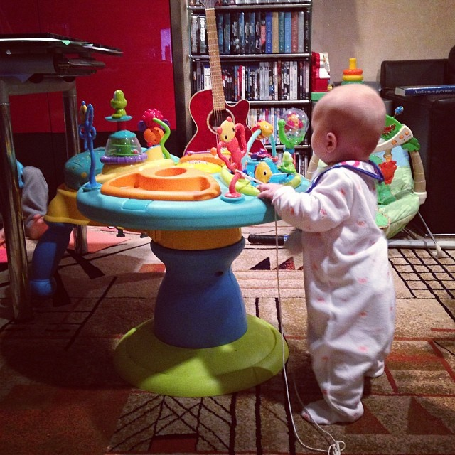 Standing! (via Instagram)