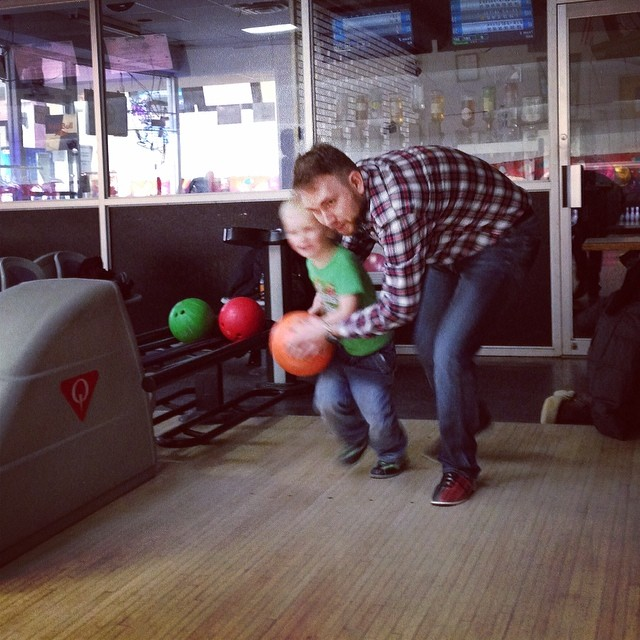 Bowling (via Instagram)
