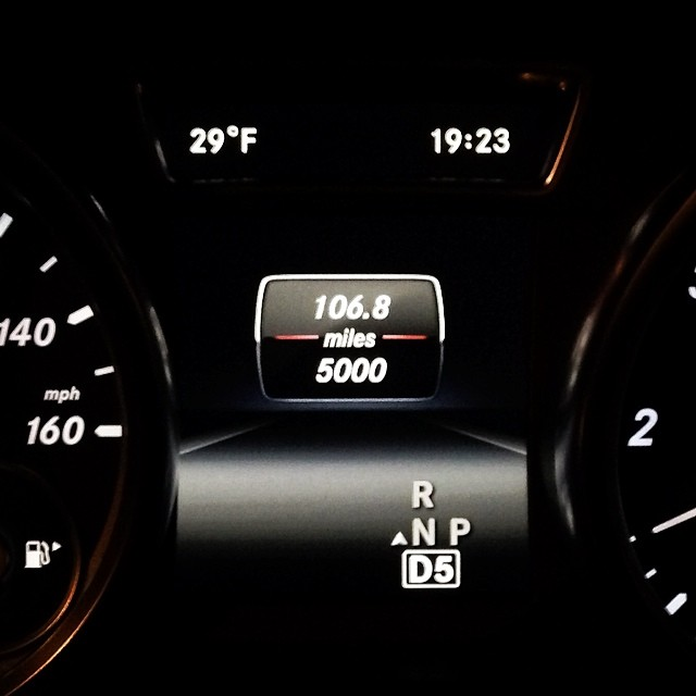 5000 Miles (via Instagram)