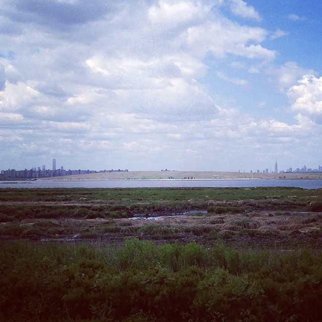 Manhattan from Jamaica Bay