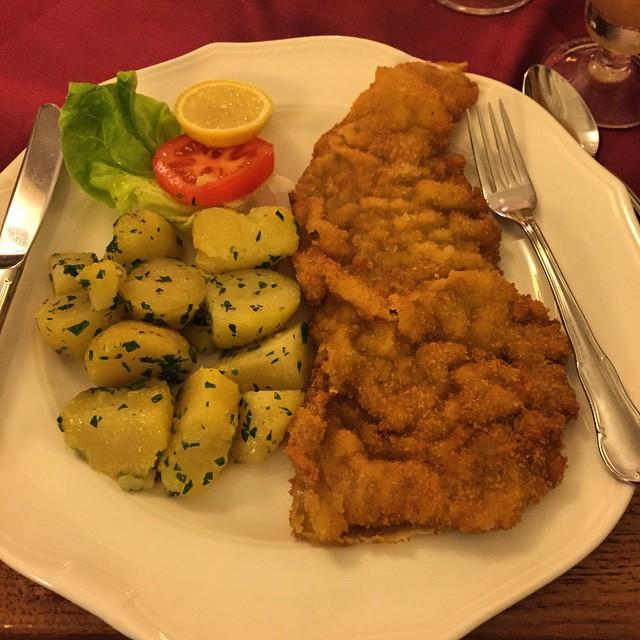 Giant Schnitzel