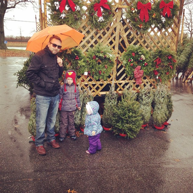 Christmas Tree Shopping