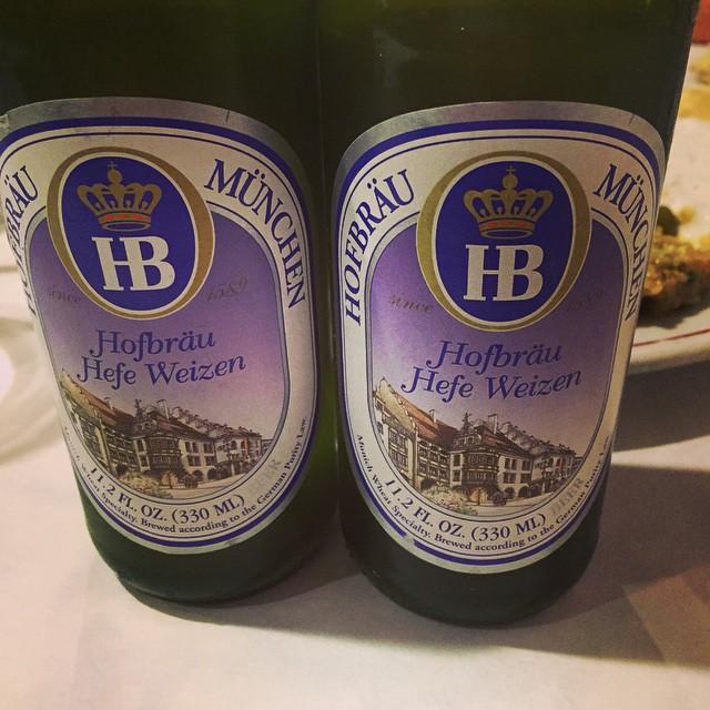 Hofbräuhaus Beer