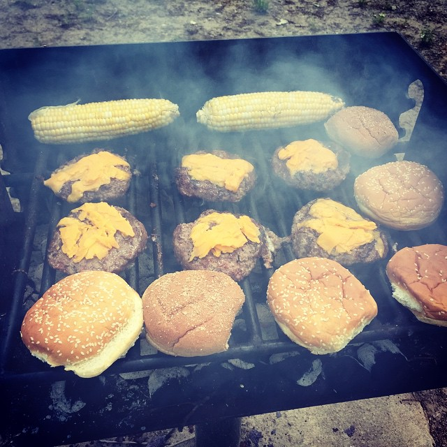 Cheesequake Burgers