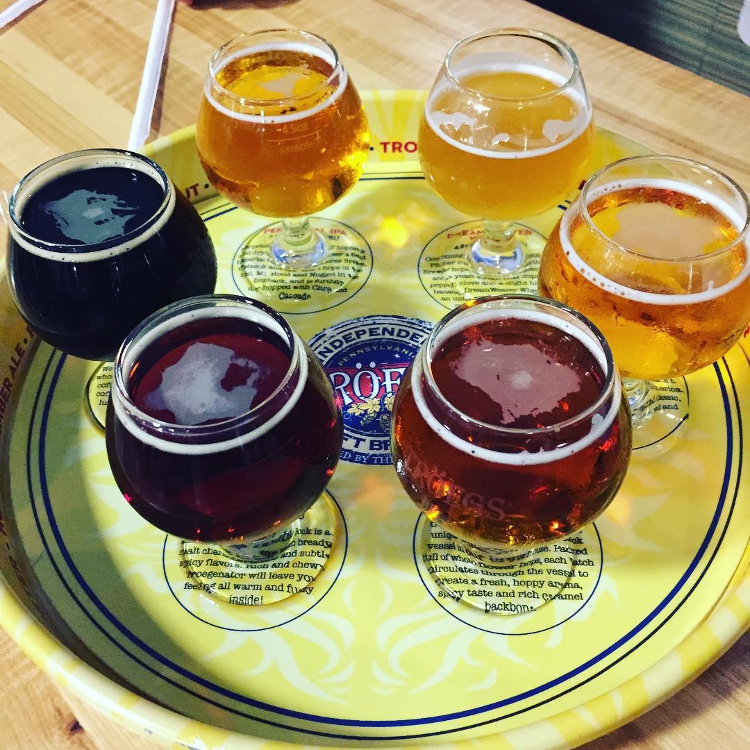 Brewery Beer Tasting @ Tröegs Independent Brewing