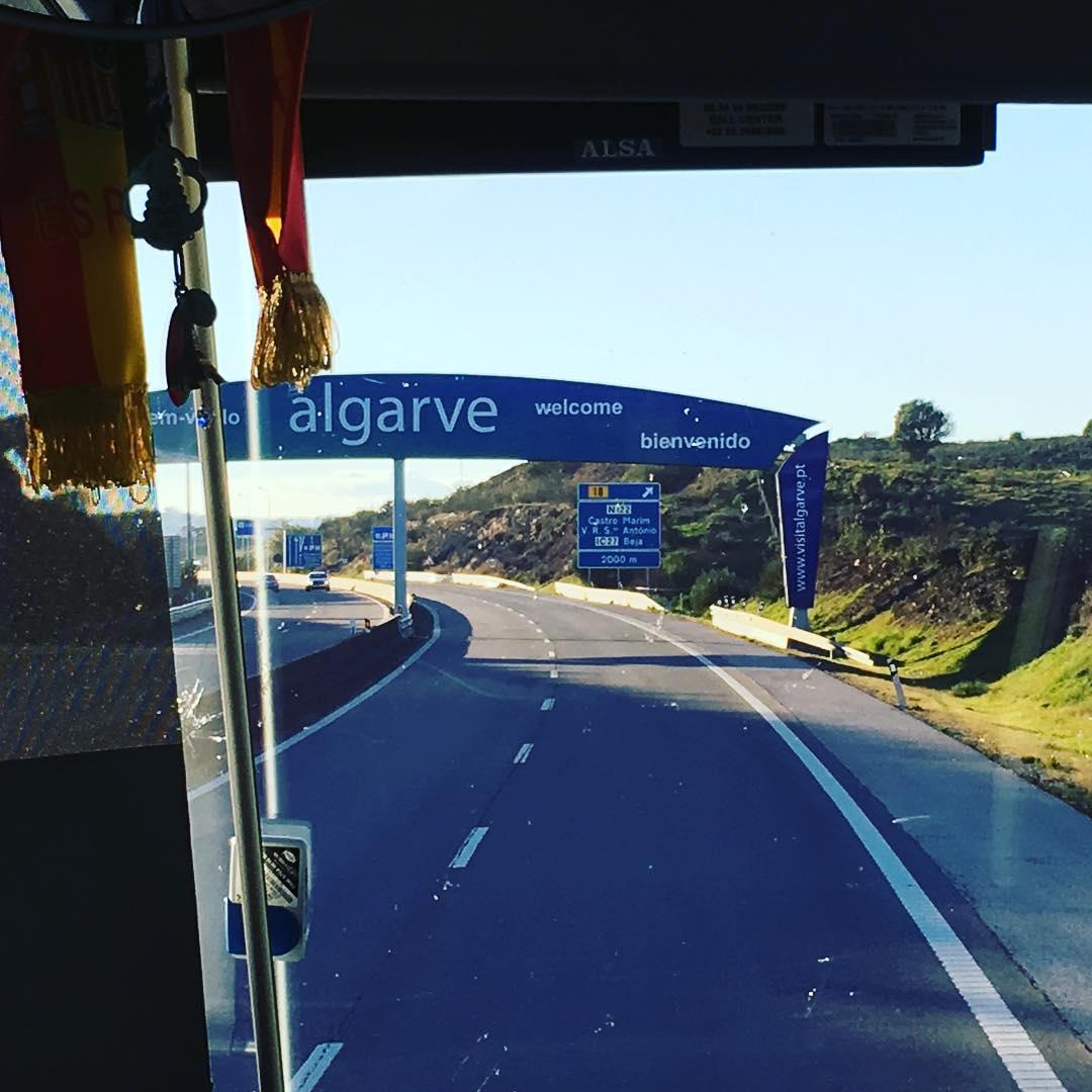 Entering Portugal